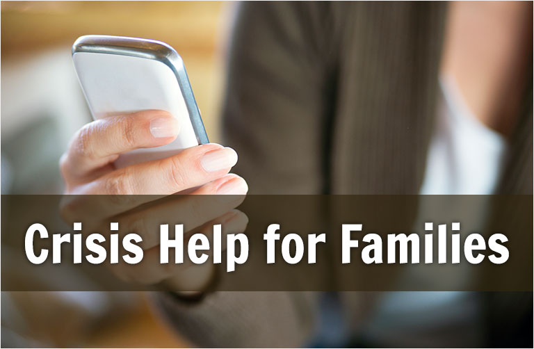 Crisis help for families
