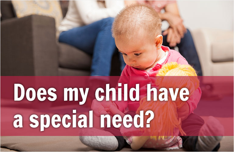 Does my Child have a special need