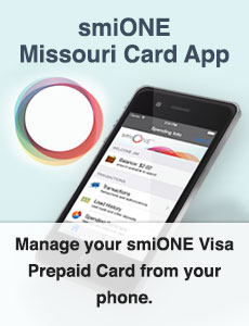 Manage your smiONE card from your phone.