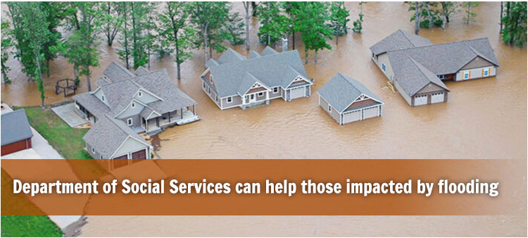 Department of Social Services can help those impacted by flooding