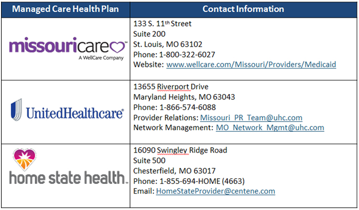2017 Provider Hot Tips Mo Healthnet Missouri Department Of